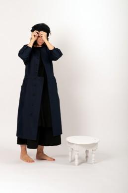 Robe manteau comme desgarçons