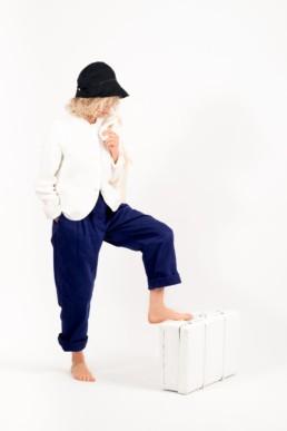 Pantalon indigo casey&casey