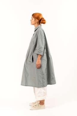 robe été grise KATHARINA HOVMAN